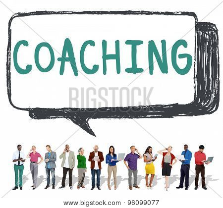 Coach Coaching Skills Teach Teaching Training Concept