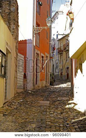 Romantic medieval village of Obidos