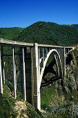 pic of bixby  - historic bixby bridge on highway one in big sur  - JPG