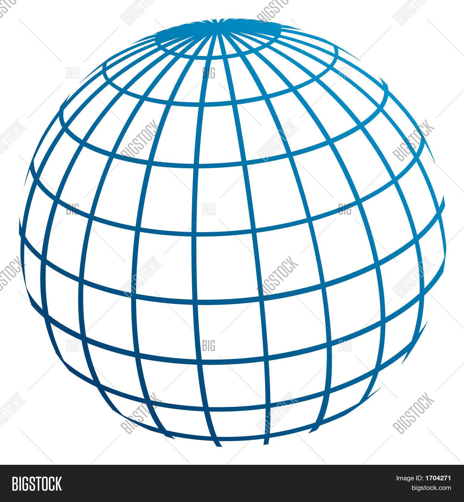 Рисунок земного шара 8