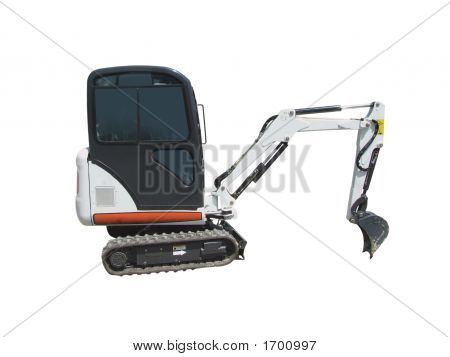 Earthmoving Machine Isolated