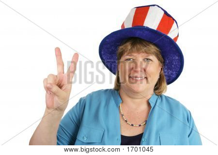 Military Wife Peace Sign