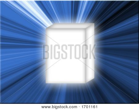 White Box Blue Star