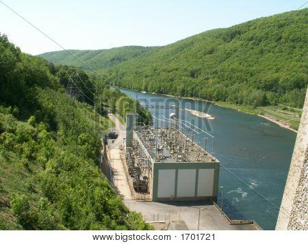 Spillway Of Dam