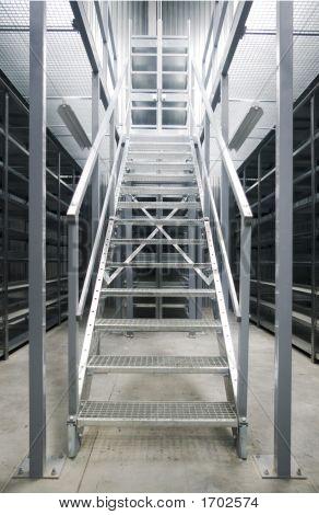 Metallic Stairs