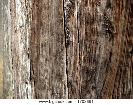 Rustic Wooded Door