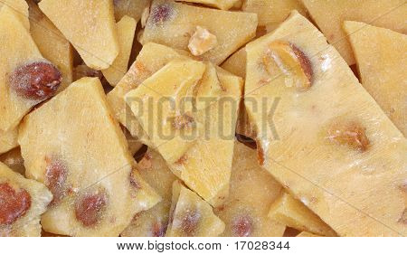 Peanut Brittle Close View