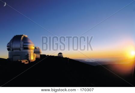 Observatory In Hawaii