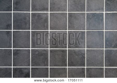 natural gray stone square tiles with white filling