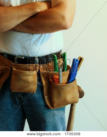 Man With Toolbelt