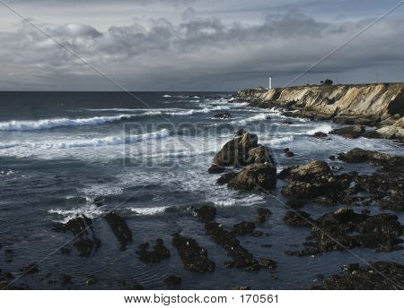 Lighthouse Seascape