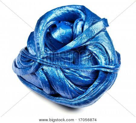 Blue plasticine