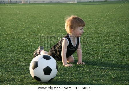The Young Football Player
