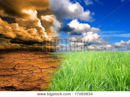 Auswirkungen der globalen Erwärmung