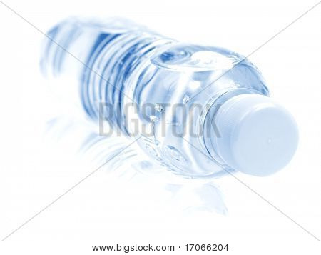 Pet bottle close-up