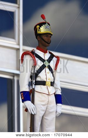 soldier of the presidential guard the