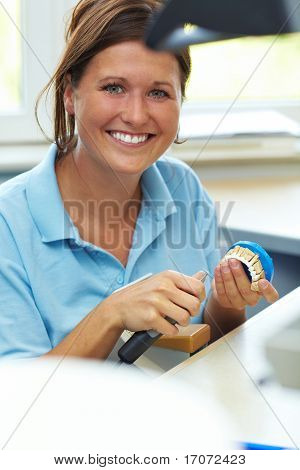 Portrait Of Dental Technician