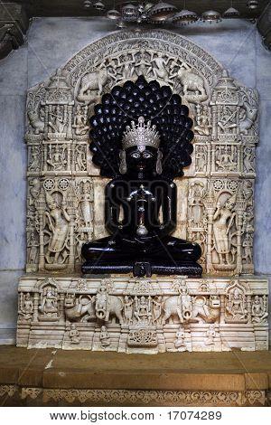 templo Jain de lodruva jaisalmer, en el estado de Rajastán en la india