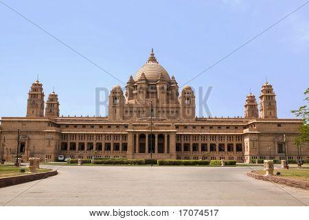 Hotel Palacio de Umaid Bhawan en la hermosa ciudad de jodhpur, en el estado de Rajastán en la India