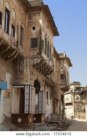 details design of  Muraraka haveli in nawalgarh city rajasthan state in India