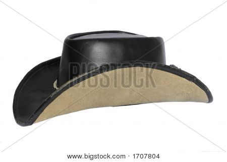 Much Loved Leather Cowboy Hat