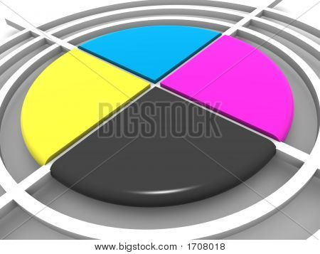 Polygraphic Target. Cmyk