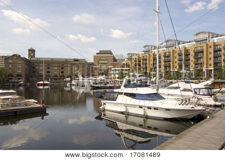 St Katherines Dock, London, England
