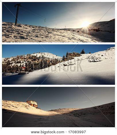 Ski Center Landscapes
