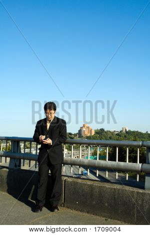 Businessman On The Go