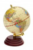 stock photo of eastern hemisphere  - globe - JPG
