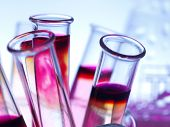 stock photo of toxic substance  - Laboratory glassware - JPG