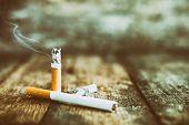 Постер, плакат: Still Life Cigarette