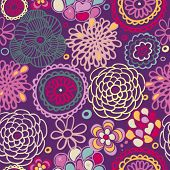 Colorful seamless summer pattern in vector