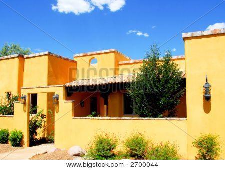 Adobe style Home Architecture