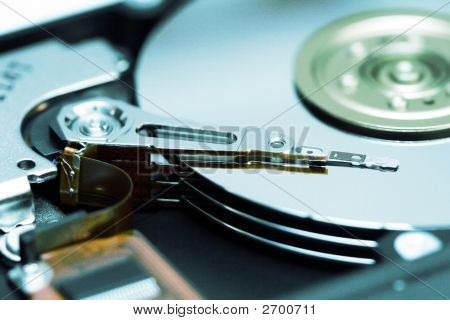 Hard Drive Internal Mechanism