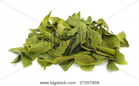 Mistletoe dried leaves
