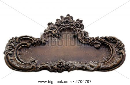 Antique Wall Plaque