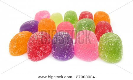 Jelly candies gumdrops