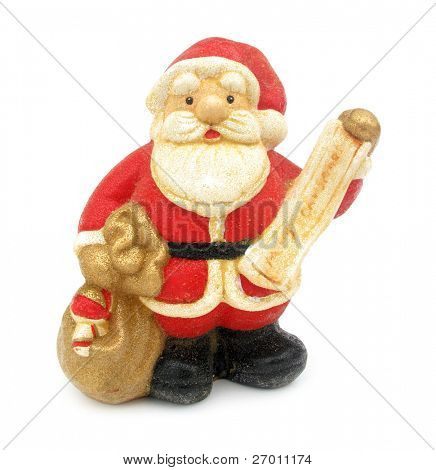 Santa Claus figure christmas decoration