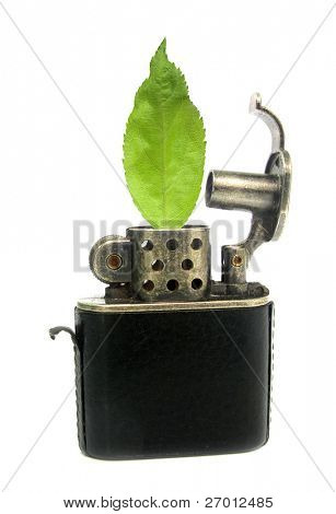 Ecological lighter for afforestation and reforestation