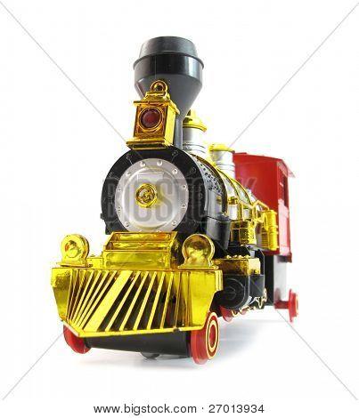 Juguete colorido locomotora de tren
