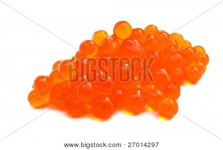 Red caviar salmon roe