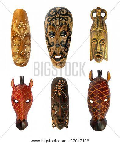 Máscaras rituales