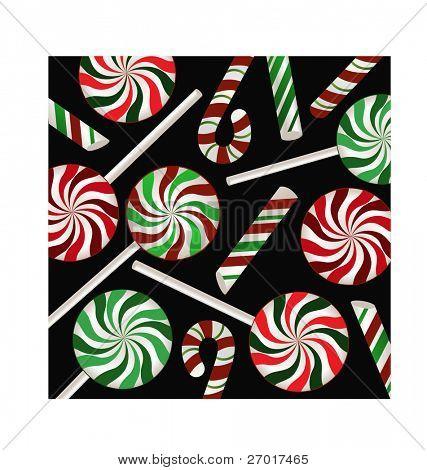 candycane background