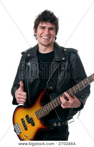Thumbs Up Musician