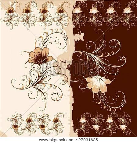 vector floral element