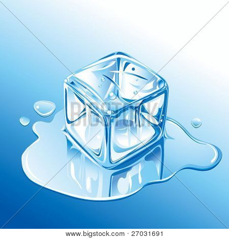 cubo de hielo