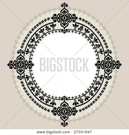 circle border ornament