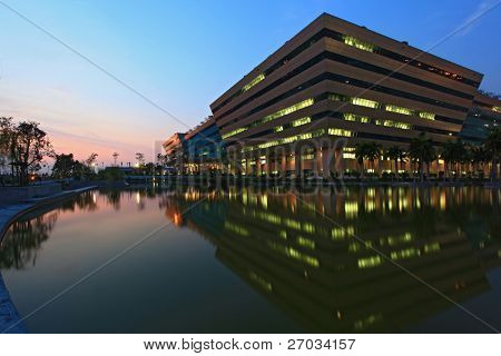 BANGKOK, THAILAND - DEC 20 : Government Complex Building on Dec 20, 2010 in Bangkok Thailand. Government Complex has 34 government units located at Chaeng Wattana St. in Bangkok.