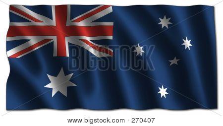 Australian Flag (3d)